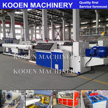KOOEN plastic pipe extruder/straw making machine