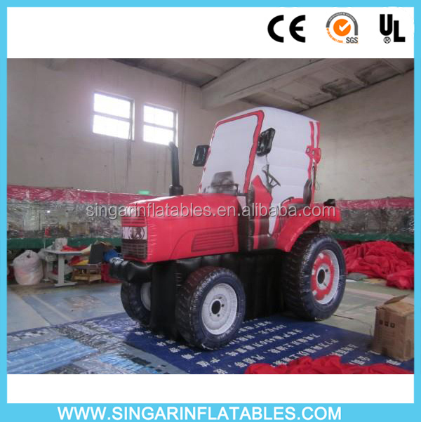 Promotion inflatable truck model for sale