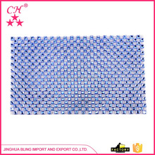 Best seller superior quality brilliant charm blooming hot fix rhinestones mesh on sale