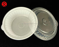 white PP round disposable microwave food container Taiwan