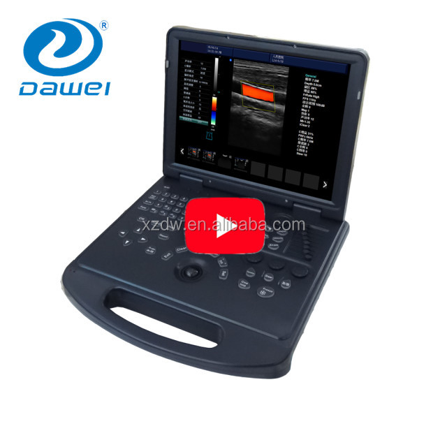 DW-C60 high quality easy used color doppler ultrasound machine with demo video