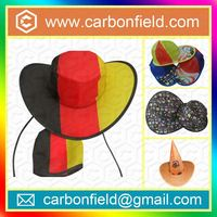 Quality guarantee honeycomb paper vase hat