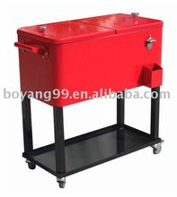 Metal Ice Cooler Box