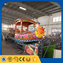 zhengzhou small cheap amusement kiddie rides flying floating boat playground games for kids for sale