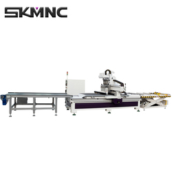 multifunction woodworking ATC cnc cutting router small wood carving machine