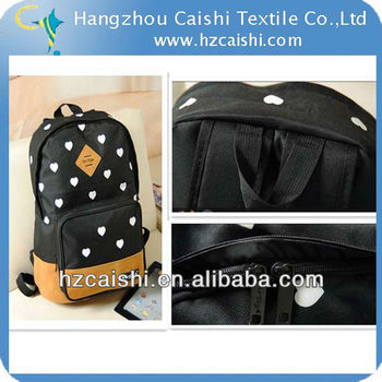 wholesale100% PVC waterproof polyster fabric is used for tent/luggage/handbag CSA 3026