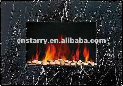 antique wall mounted modern LED electric fireplace