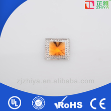 China crystal resin stone work in dress,glitter stone work in dress