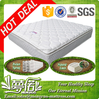 full size pillow top dual pocket spring mattress in Korean