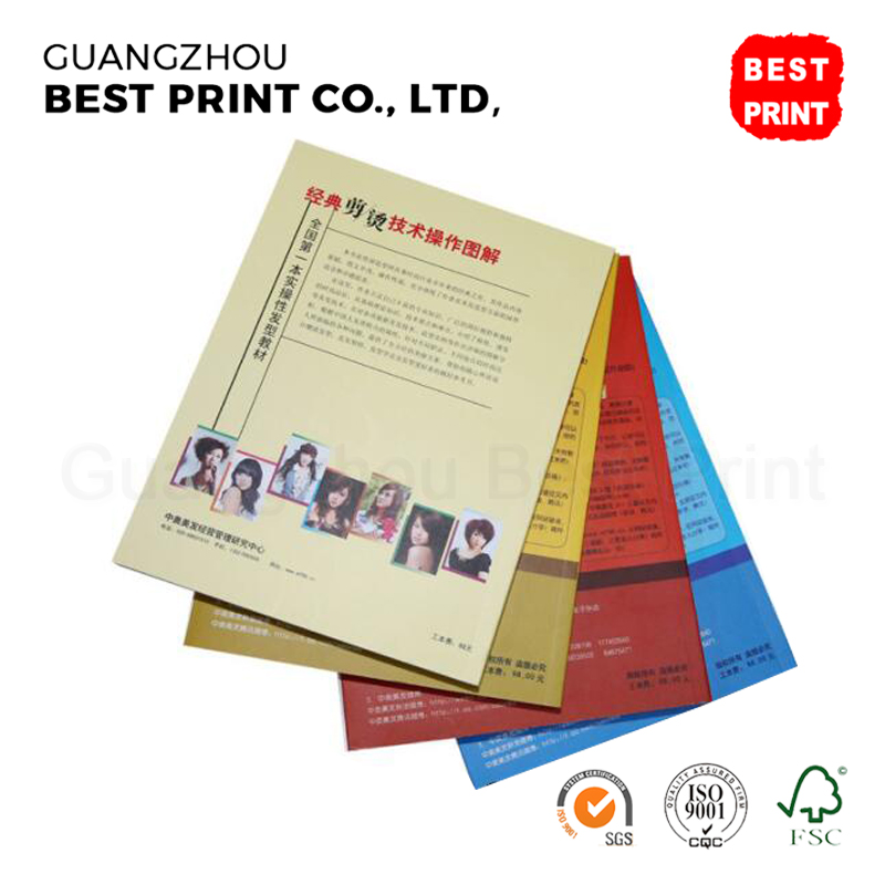 Custom adult english offset 80gsm copy paper soft cover book printing