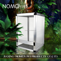 Nomoypet Factory wholesale Reptile Display Aluminum Breeding Cage Screen cage 45*45*80cm