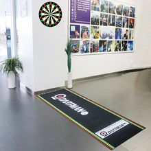 Custom Rubber Printed Throw Dart Board Floor Logo Matte