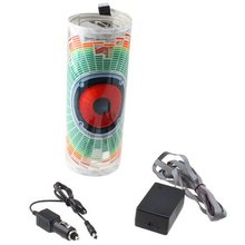 GXT 0x25cm Car Auto Music Beat Rhythm LED Glow Lights Lamp Sound Activated Equalizer Sticker