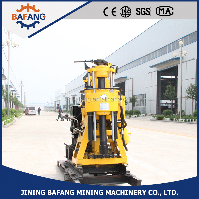 Water well portable high efficiency drilling rig