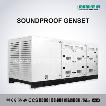 On Sale MAN Engine Soundproof Standby Generator set