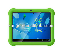 10.1 inch kid proof kid friendly silicone impact drop shock resistant tablet case