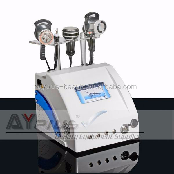 AYJ-823C SOLO Agent Wanted 5 IN 1 rf vacuum cavitation liposuction slimming machine