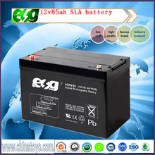 12v85AH Maintenance free battery ups Deep cycle battery