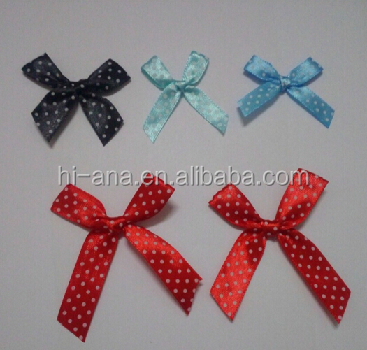 hi-ana artificial flower Hand - beaten bow ribbon small flowers bow ribbon ribbon flowers gift packaging