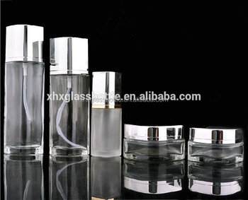 Manufacturer 30Ml~120Ml Cosmetic Empty Glass Packaging Bottle And Jar