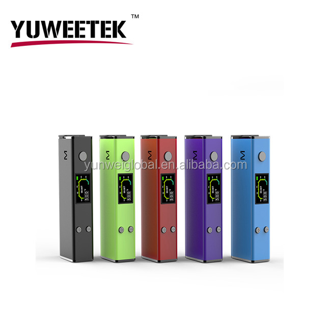 Alibaba golden supplier YuWeeTek high quality electronic cigarette mysterry x2 herbal vaporizer dry herb made in China