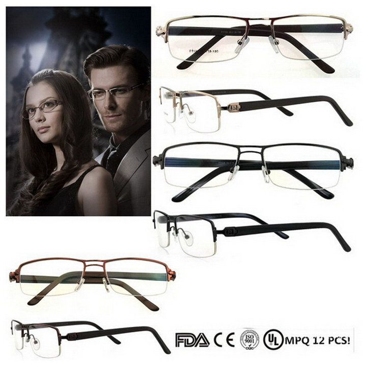 2015 hotsell women men liquidation stock eyewear frame with spring hinge