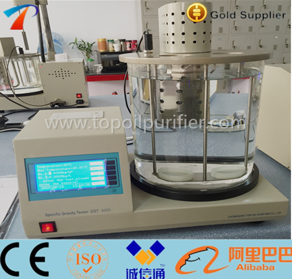 Density Of Petroleum Products/Density Meter Oil Testing/High Temperature Control Accuracy Oil Density Meter