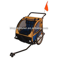 foldable aluminum frame baby bicycle trailer jogger