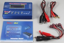 B6 Lipo Battery Balance Charger With EC3 XT60 Dean-Style Plug With AC Cord
