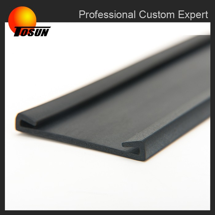 free of burrs China manufacturer TS16949 certificated rubber edge protection, rubber edging strip, extruding rubber seal