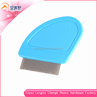 Small plastic handle nit free lice comb comfortable use for kids