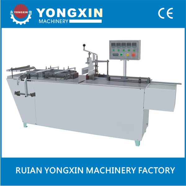 Food Box Manual Cellophane Wrapping Machine