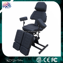 adjustable arm leg rest good massage tattoo bed/professional tattoo furniture/good quality massage chair
