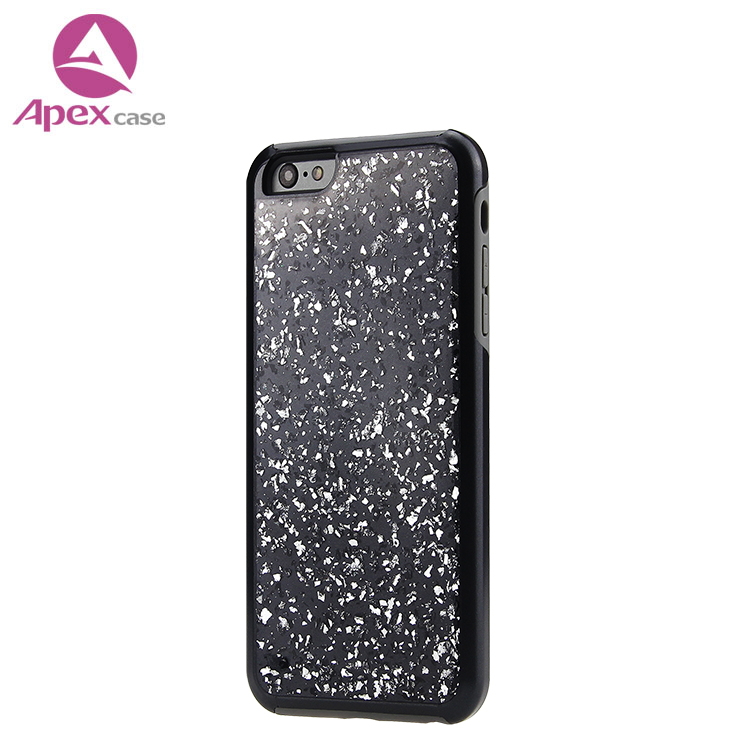 Mobile Accessories 2018 Glitter Phone Case for iphone X 10 Hard Plastic Case Cell Phone Cover