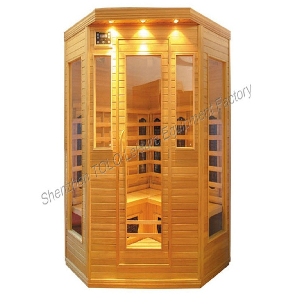 TOLO FCC certified Far Infrared Health Cabin Saunas for commercial use
