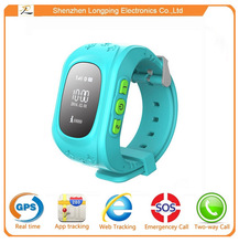 Q50 kids gps tracker watch mobile phone oem