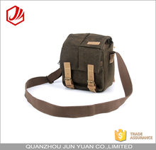 Canvas waterproof unique customized vintage digital dslr camera bag for teen