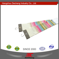 Decheng color matching fabric custom display paper hanger