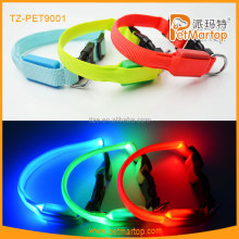 2016 cat collar lights pet accessories led cat collar TZ-PET9001 private label pet products