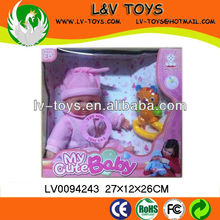2013 The most popular High quality Vinyl 12 Inch Toy doll set W/IC for baby play with EN71