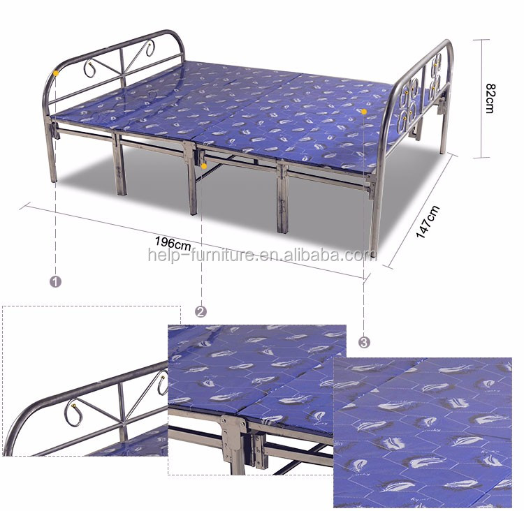 Portable foldable beds adults day beds