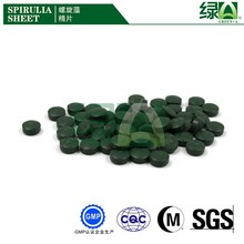 Wholesale High Quality Healthcare Supplement Spirulina Tablet