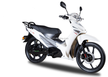 1000w brushless motor electric cub scooter with pedals installed
