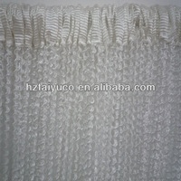 spiral pattern partition-line curtain string for kitchen room entrance