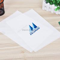 Best seller l shape white A4 sheet soft plastic file protector folder