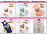 new arrival hot sex baby girl frock suits for baby girl wholesale Embroidery heart desgisn bubble romper
