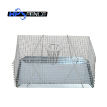 Steel wire eco-friendly mouse trap rat cage for small animals control