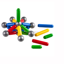 Magnetic rods and balls toy