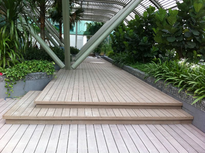 WPC Outdoor Hardwood Decking