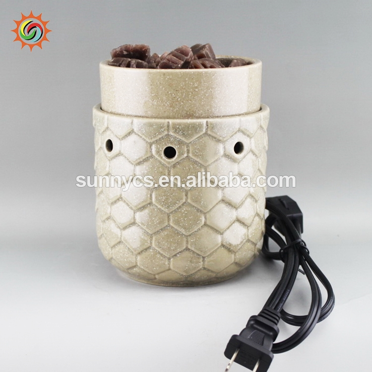 New arrival candle food warmer, wholesale electric oil warmer, candle wax melters warmers